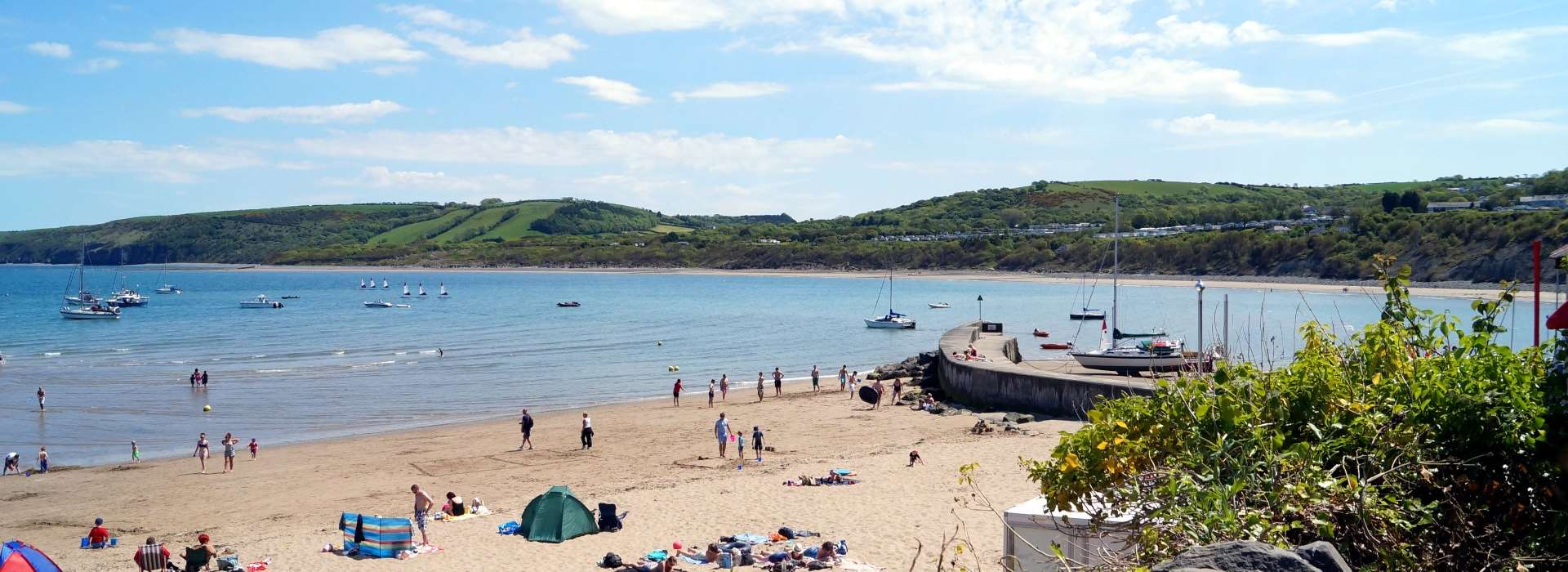 ENJOY OUR FINEST WELSH BEACHES